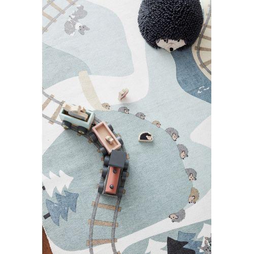 Dětský bavlněný koberec Edvin Woodland