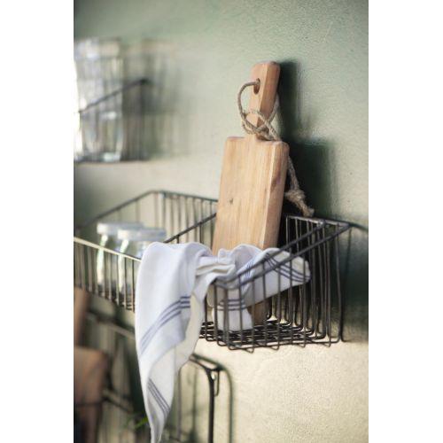0bfe30d0e Závesné drôtené košíky Black Iron set 3 ks | Bella Rose