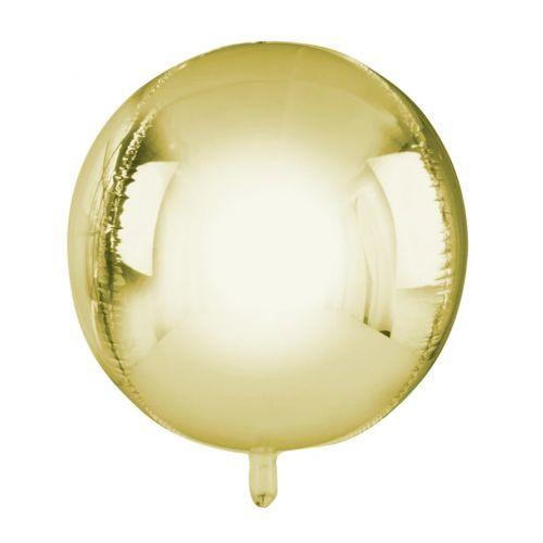 Nafukovací balón Gold ⌀ 38 cm