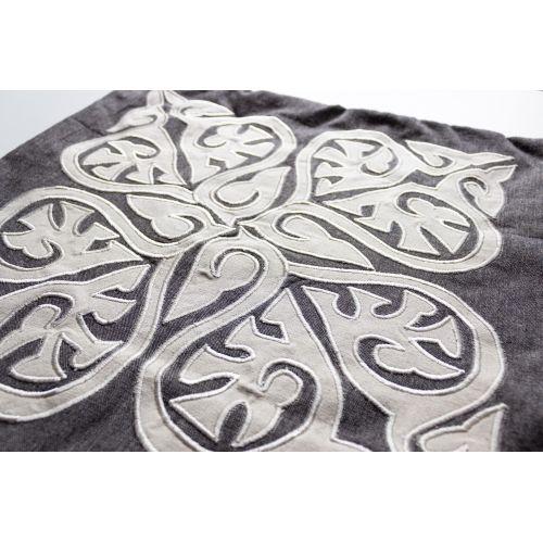 Povlak na polštář Traditional Grey Cushion