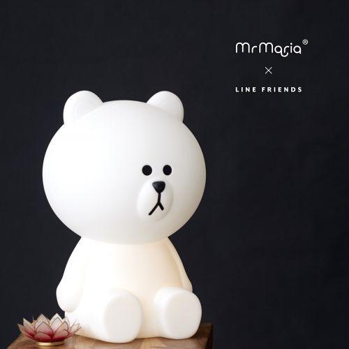 Dětská medvědí LED lampa Bruno XL
