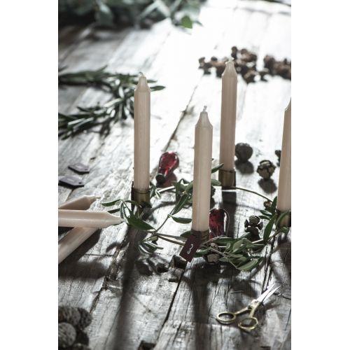 Vánoční baňka Drop Pebbled Glass Rhododendron