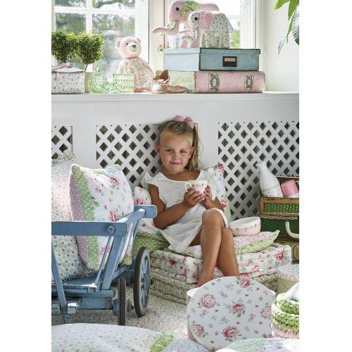 Sedák Lily petit white 50x50