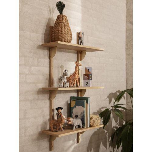 Dřevěná vyřezávaná hračka Zebra