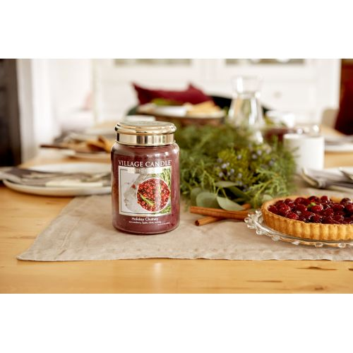 Svíčka Village Candle - Holiday Chutney 602g