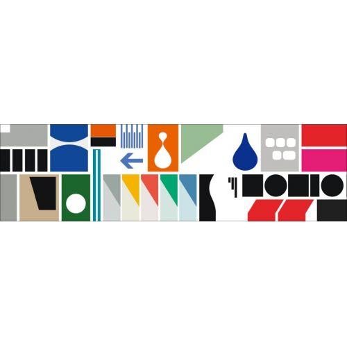 Japonská papírová páska Remixed Shapes