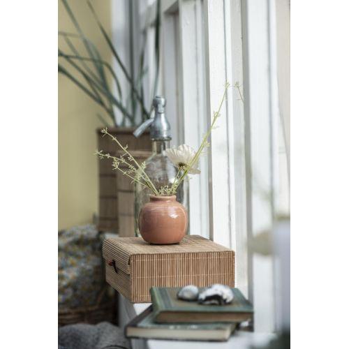 Úložný bambusový box - set 2ks