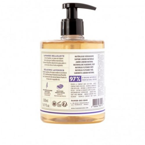 Relaxační tekuté mýdlo - Levandule