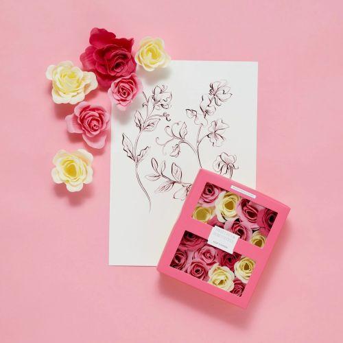 Mýdlové květy do koupele Sweet Pea & Honeysuckle 85g