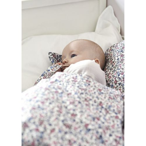 Dětské bavlněné povlečení Ruby Petit White 70 x 100 cm
