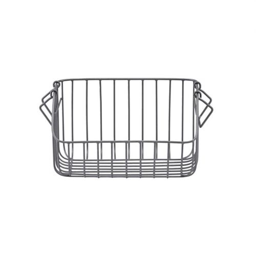 Kovový košík Nagpur Grey - menší