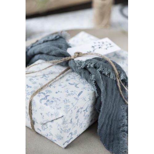 Bavlněný ubrousek Historical Blue 40×40 cm