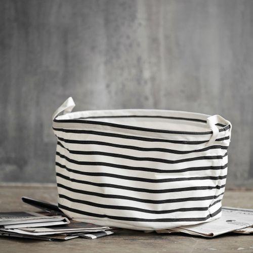 Textilní koš Stripes 40 cm