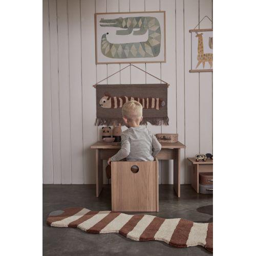 Dětská dřevěná židlička Arca Nature
