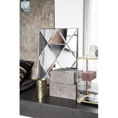 Nástěnné zrcadlo Rhomb