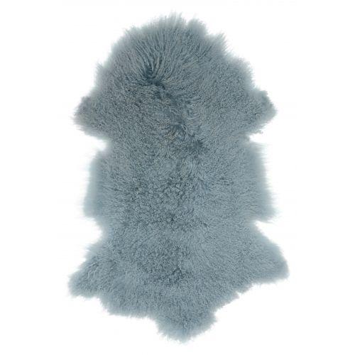 Tibetská ovčí kožešina Light blue