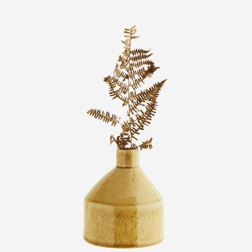 Keramická váza Stone Light Yellow