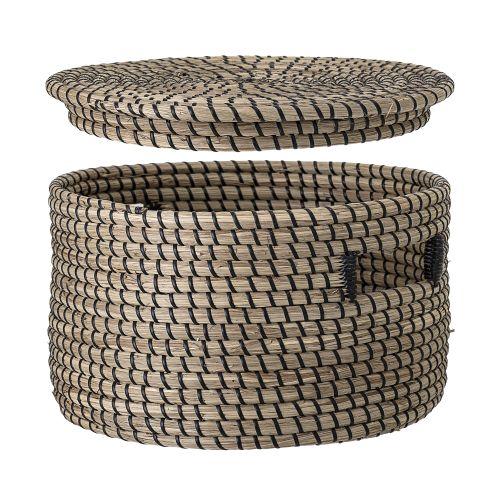 Košík s víkem - Stylish Seagrass