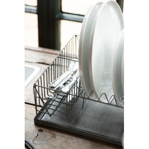 Odkapávač na nádobí Grey Zinc