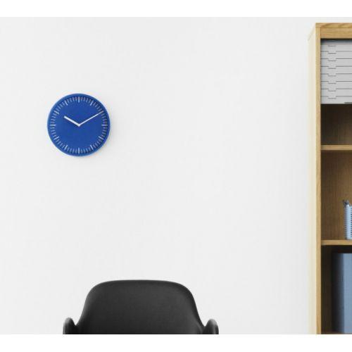 Nástěnné hodiny Day Wall Clock Blue
