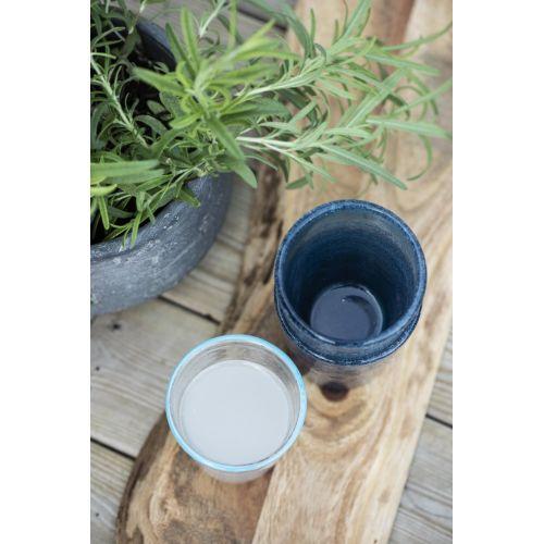 Sklenice Blue Rim 200 ml