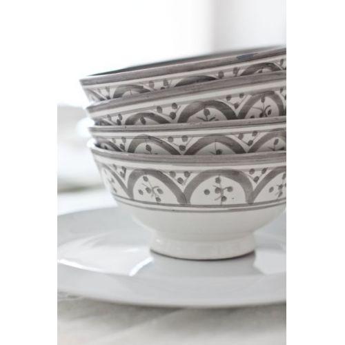 Keramická miska Morocco grey