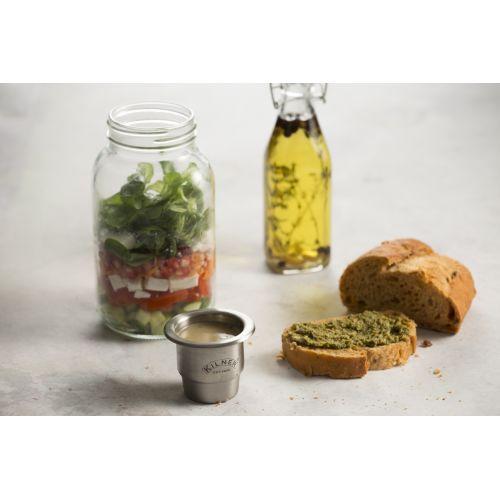 Svačinová/obědová sklenice 1 l