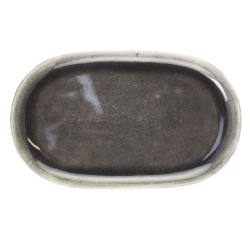 Servírovací talíř Calais Coal Grey Plate
