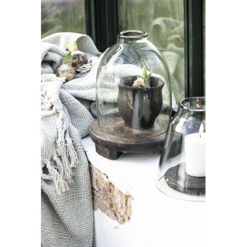 Bavlněný přehoz Green Tea & Harlequin Pattern