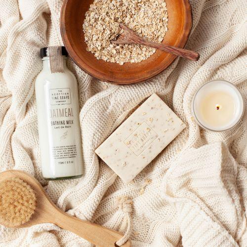 Luxusní peelingové mýdlo Oatmeal 220 gr