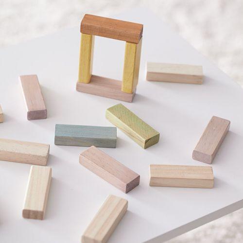 Dřevěné kostky Building Blocks