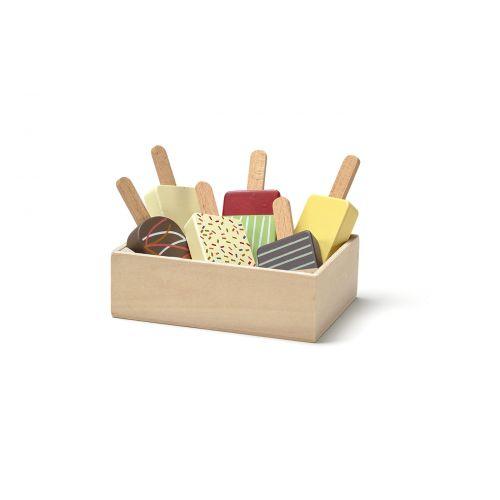 Dřevěné nanuky Bistro