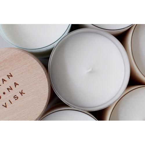 Vonná svíčka RO (klid) 190 gr - s dřevěným víčkem