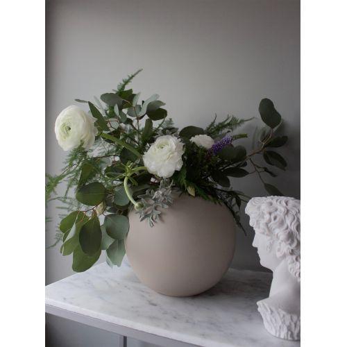 Kulatá váza Ball Sand 20cm