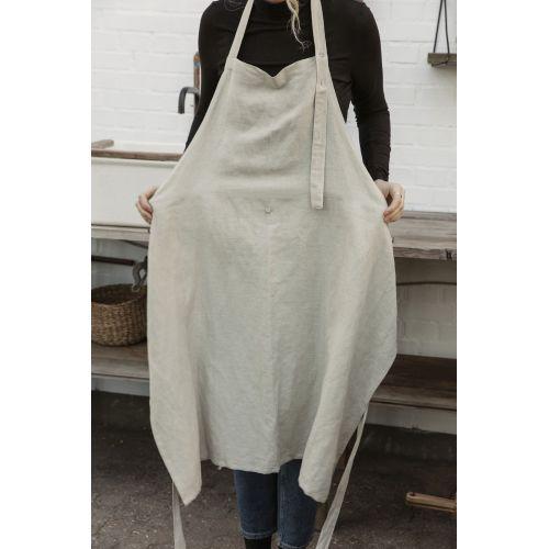 Kuchyňská zástěra Linen Grey