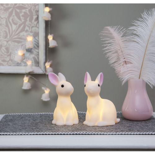 Světelný řetěz - White Rabbit