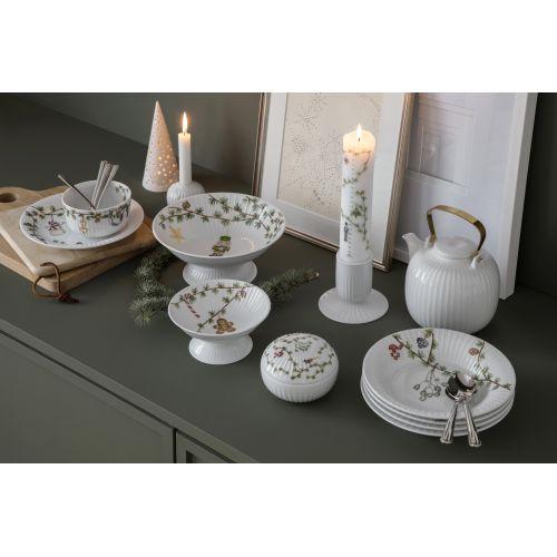 Porcelánová dózička Hammershøi Christmas