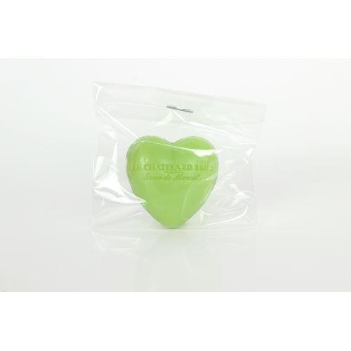 Francouzské mýdlo Heart - Oliva a lipový květ 25gr