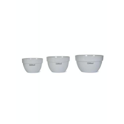 Porcelánová miska s odměrkou Rialto - set 3 ks