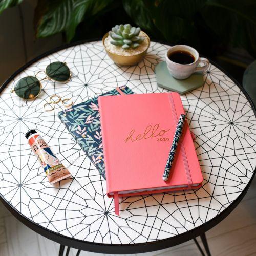 Rodinný plánovací diář Breezy Blossoms 2020