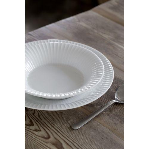 Keramický polévkový talíř Hammershøi White