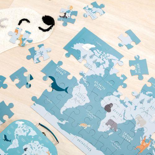 Puzzle v kufříku Endangered Animals