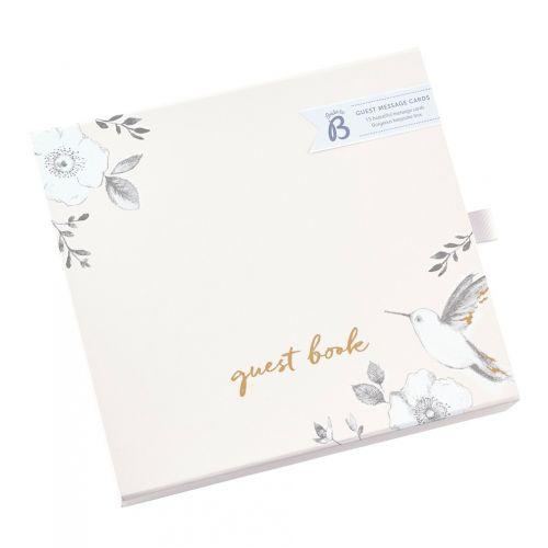 Svatební kniha hostů Rose Flower Box