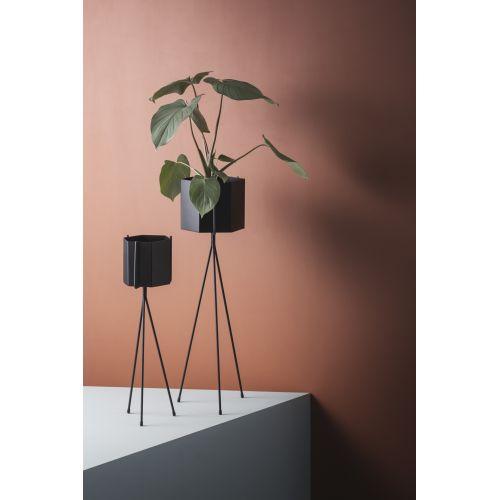 Kovový stojan na květník Black - menší