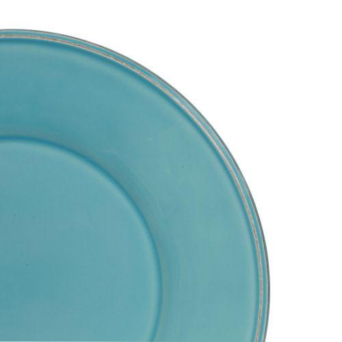 Keramický talíř Turquoise