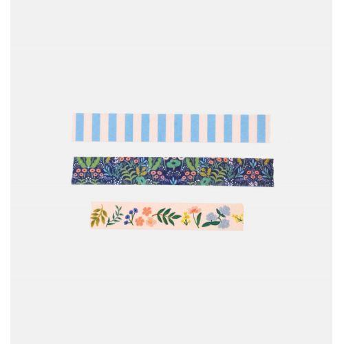 Designová samolepící páska Tapestry - set 3ks