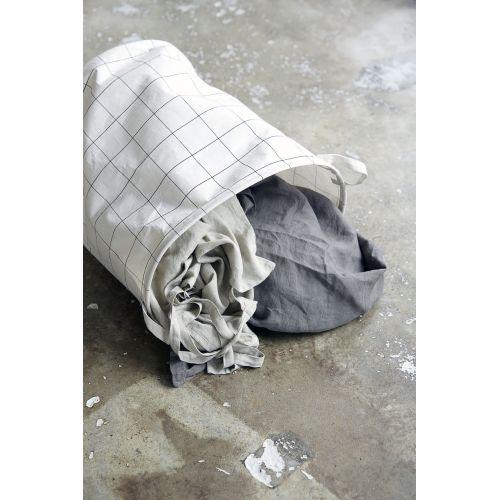 Plátěný koš na prádlo Squares