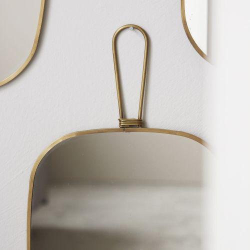 Zrcátko Meraki Antique Brass