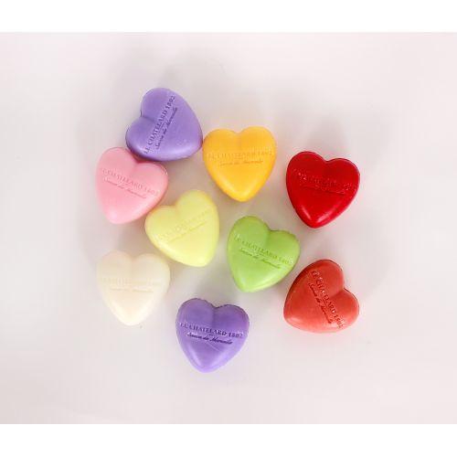 Francouzské mýdlo Heart - Mandarinka a limetka 25gr