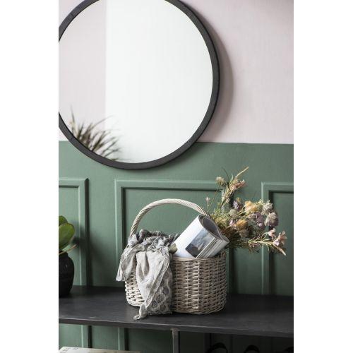 Proutěný košík Oval Grey Willow